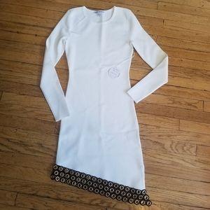 Good American Peepin Asymmetrical Dress